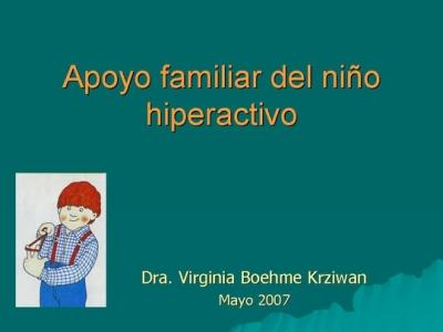 Desde Chile llega esta interesante presentación sobre el TDAH