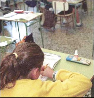 ARTICULO: El 8% de los escolares sufre trastornos de hiperactividad